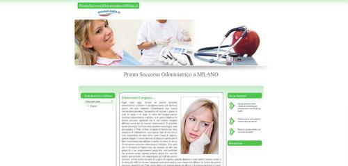 Cerchi urgentemente un dentista a Milano?