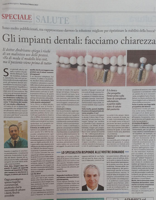 Gli impianti dentali: facciamo chiarezza
