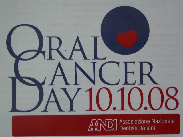 Giornata per la prevenzione del tumore della bocca