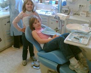 Cura dei denti decidui in sedazione cosciente