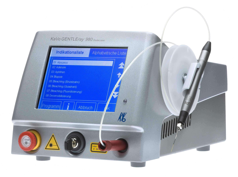 Uso del laser a diodi per i tessuti gengivali