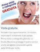 Studio di Odontoiatria Specialistica e Ortodonzia Dr. Luca Macaluso