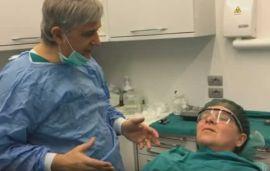 Paziente ipertesa: aggiustamento pressorio con sedazione cosciente prima dell'intervento.