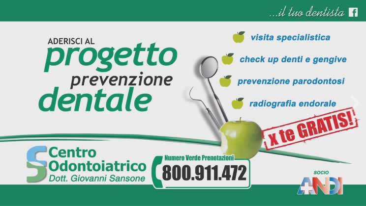Progetto Prevenzione Dentale